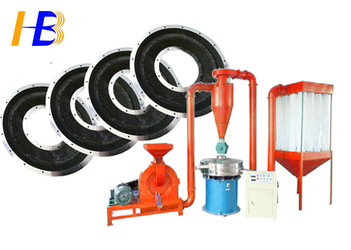 Disk Type Shoe Outsole Rubber Grinding Machine For Heat - Sensitive Material Processing